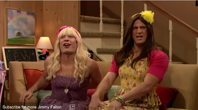 EW with Jimmy Fallon and Channing Tatum